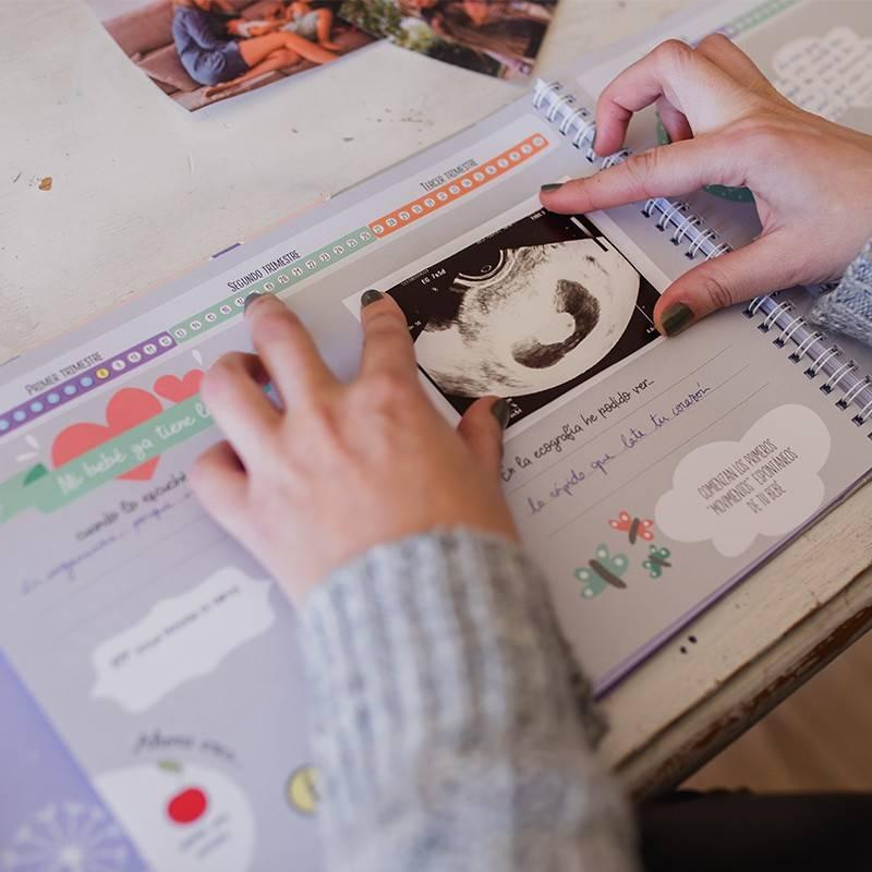 Libro diario del embarazo mimuselina