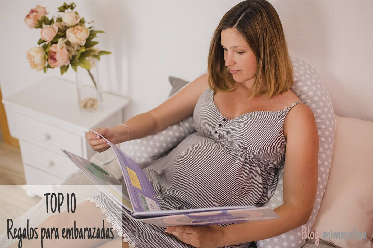 ideas para regalar a una embarazada, top 10 regalos a embarazadas, regalos para embarazadas mimuselina