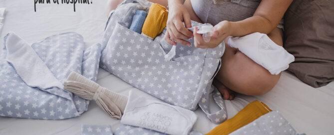 Qué meter en la maleta del bebé para el hospital Mimuselina