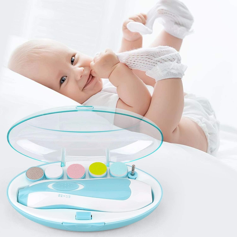 lima eléctrica para uñas bebé