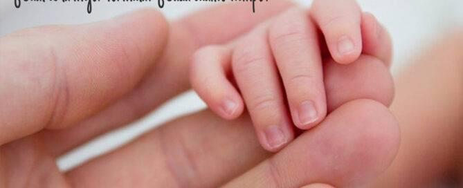 como y cuando cortar uñas bebe recien nacido