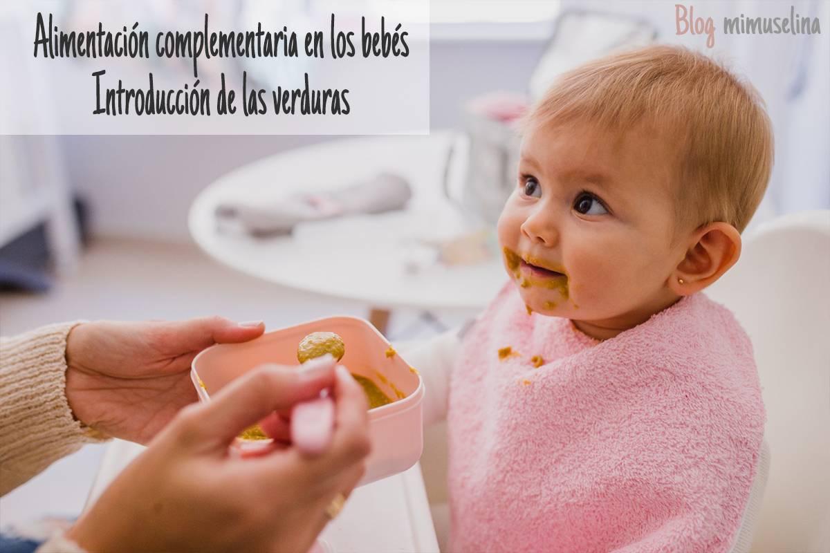 alimentación complementaria bebe introduccion de la verdura