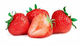 Alimentación complementaria bebe introducción fruta fresa mimuselina