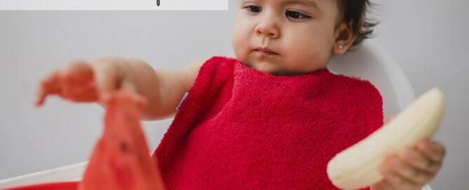 Alimentación complementaria bebés cuándo y cómo introducir las frutas