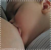 Nicolás tomando el pecho, lactancia materna, dieta de la madre