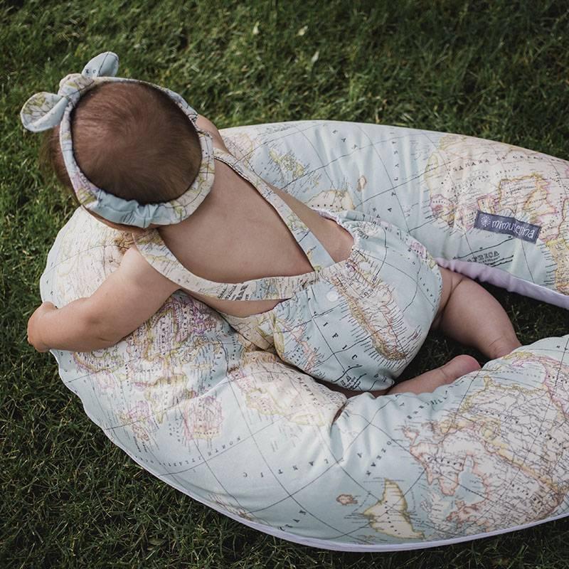 ranita mapamundi bebé verano protección solar