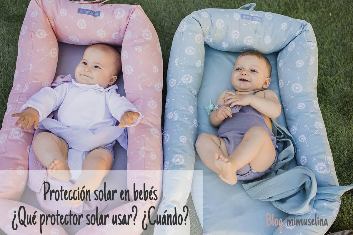 Protección solar en bebes