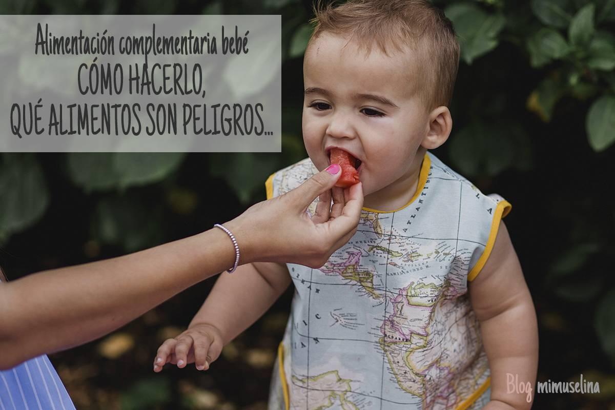 alimentacion complementaria bebé babero baby led weaning