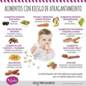 Alimentacion complementaria para bebé riesgos