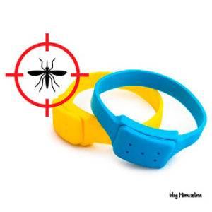 pulseras repelentes de mosquitos para niños mimuselina prevención picaduras