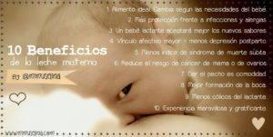 Beneficios de la lactancia materna mimuselina