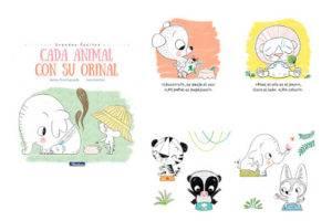 cada animal con su orinal libros dejar el pañal mimuselina