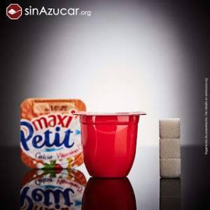 Maxi petit suise alimentación infantil con azúcar añadido