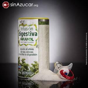 Infusion digestiva infantil azúcar añadida dieta infantil