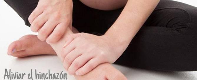 Piernas hinchadas durante el embarazo