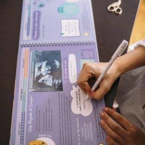 Libro de recuerdos del embarazo evolución del bebé semana a semana