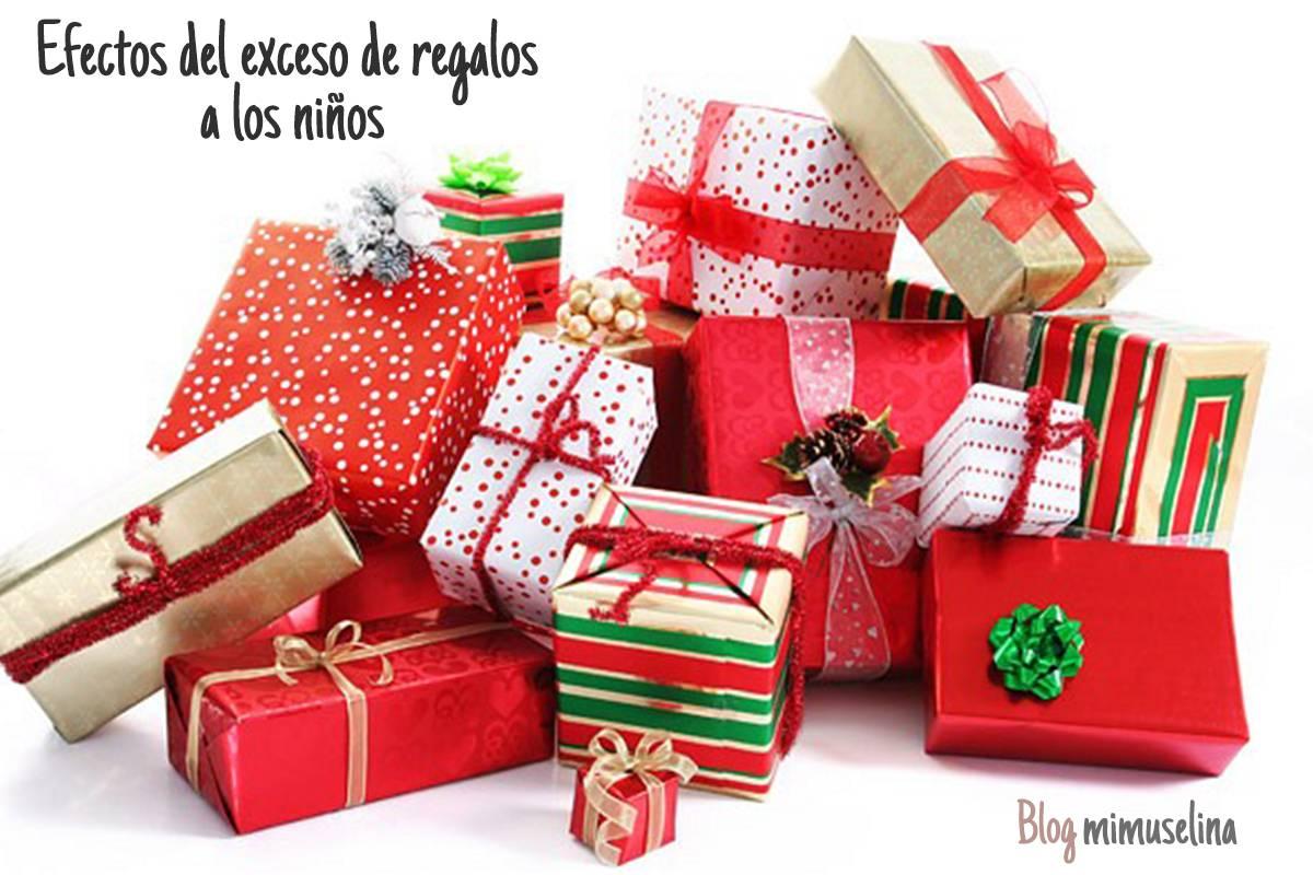 El efecto negativo del exceso de regalos en niños