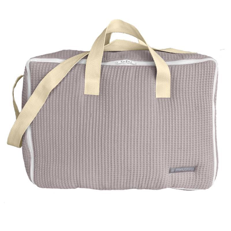 Maleta de tela para bebé, maleta hospital bebe recien nacido preparar la bolsa dar a luz