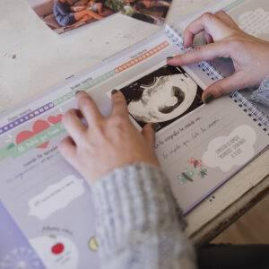 Libro del embarazo, agenda embarazada semana a semana Mimuselina