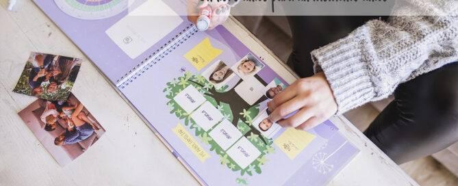 Libro diario del embarazo con información del bebé semana a semana mimuselina, agenda embarazada