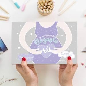 Agenda del embarazo Mimuselina, libro diario de recuerdos embarazada
