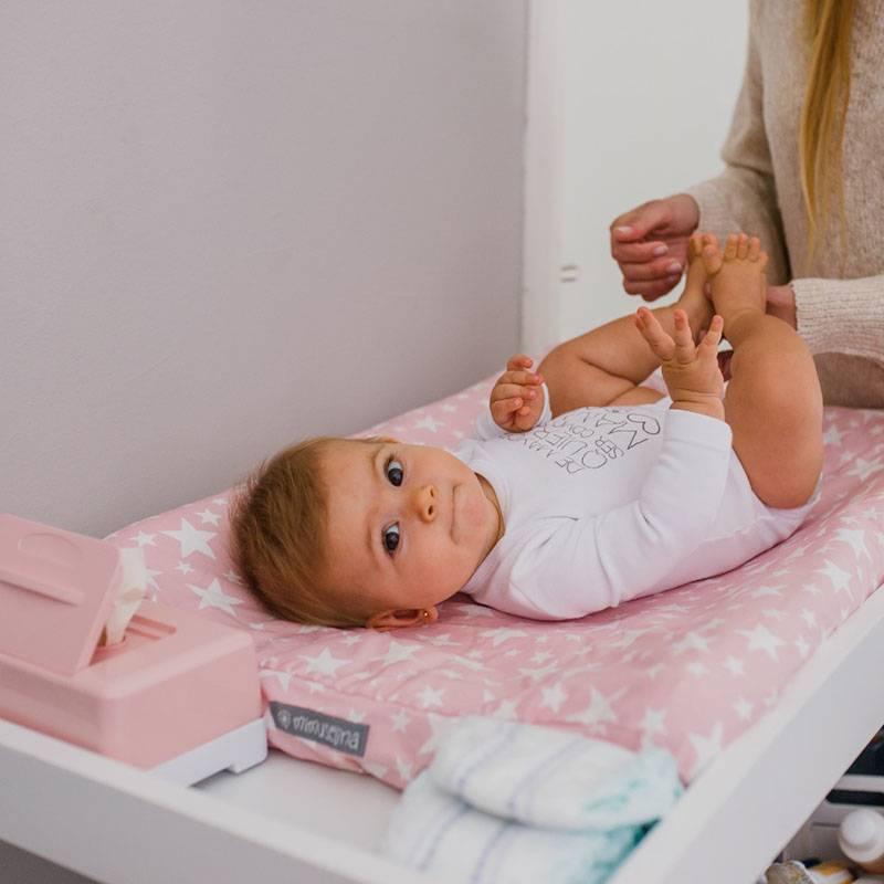 Cambiador de sobremesa para bebé