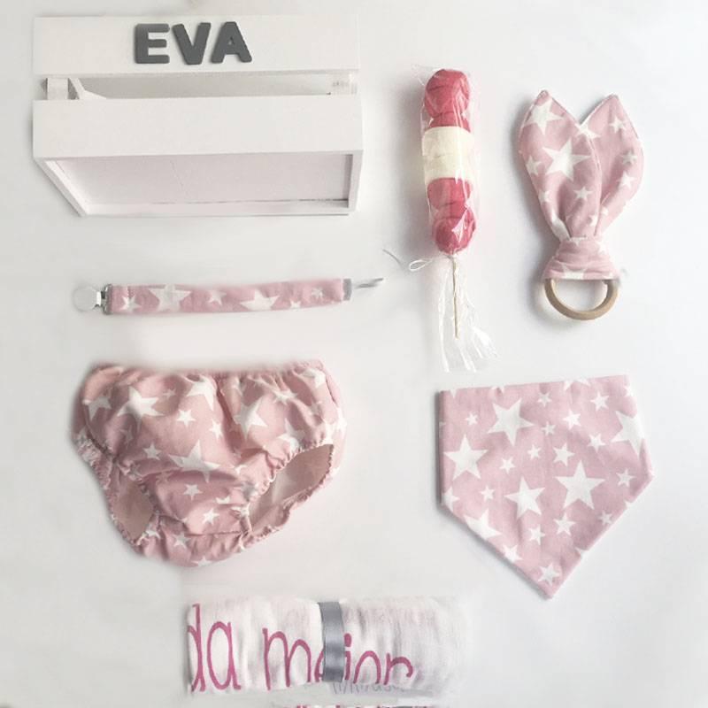 canastilla para bebé, ideas de regalos originales para recién nacidos Mimuselina