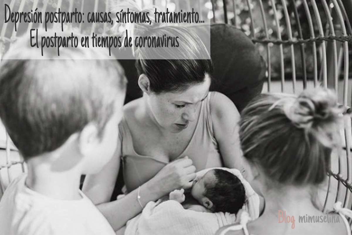Depresion post parto: postparto en tiempos de coronavirus