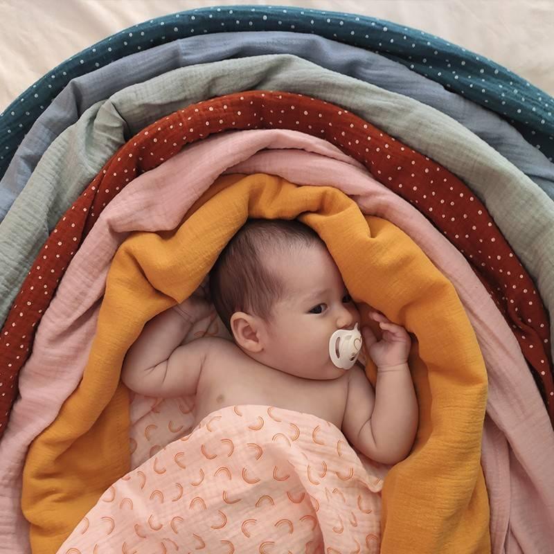 Muselinas regalos para bebés, ideas de regalos para recién nacidos