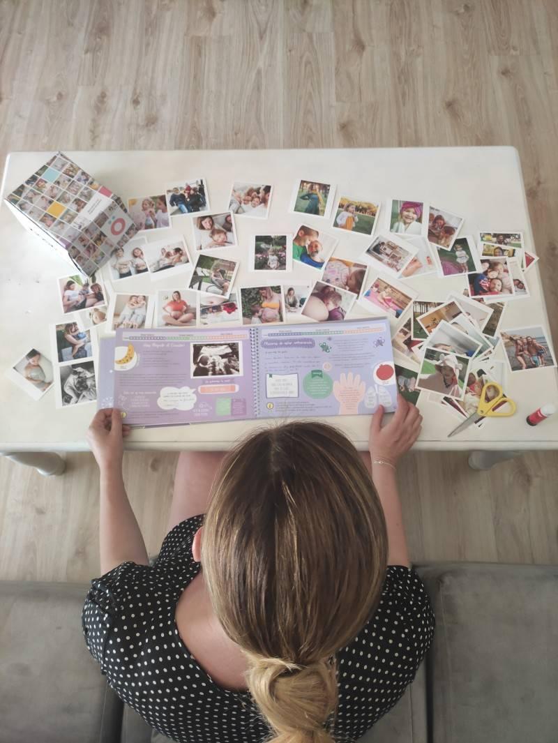 Libro del embarazo, álbum fotos embarazada Mimuselina