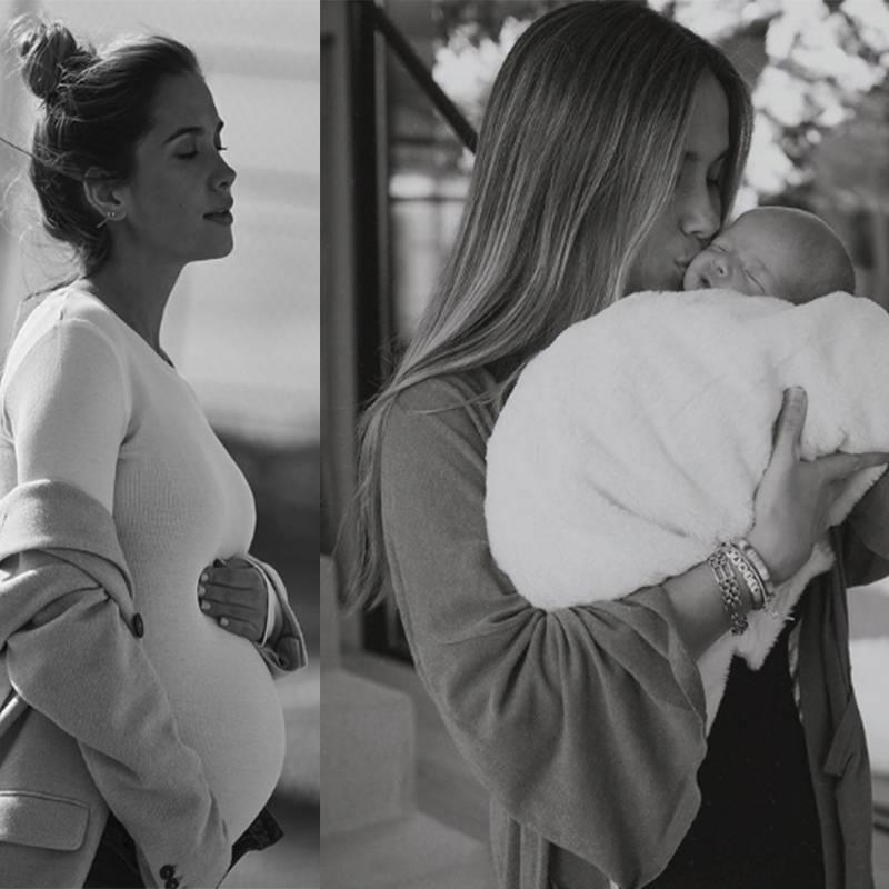 Maria pombo embarazo y parto baby boom confinamiento