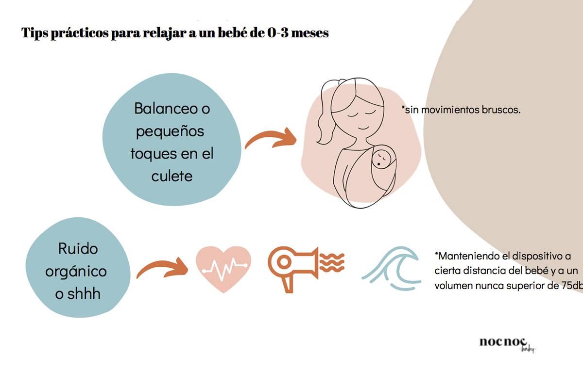 consejos para que tu bebé duerma bien mimuselina nocnoc baby