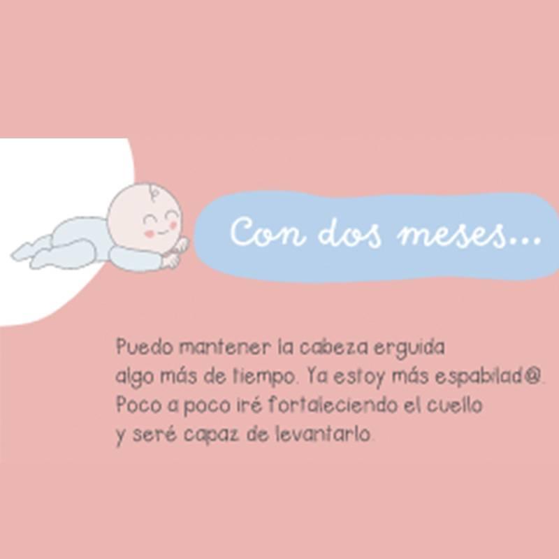 libro primer año del bebé mimuselina con dos meses