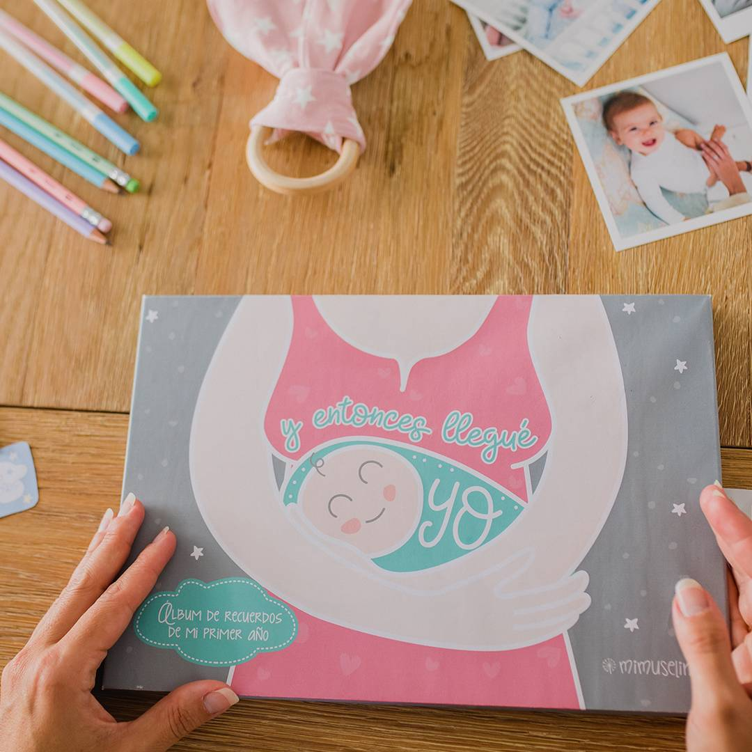 Libro primer año del bebé mimuselina